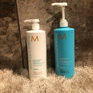 Moroccanoil Moisture Repair Shampoo Conditioner